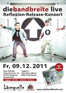 Die Bandbreite live in Duisburg im Haus Kontakt
