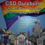 Die Bandbreite auf dem CSD Duisburg