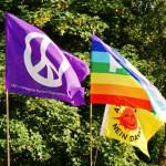 Demonstration für Frieden in Krefeld