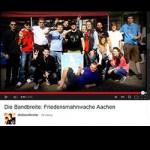 Die Bandbreite auf der Friedensmahnwache Aachen