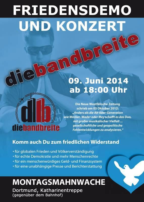 Friedensmahnwache Dortmund
