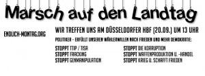Marsch auf den Landtag