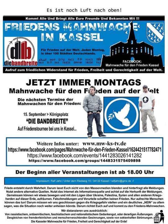Flyer Kassel