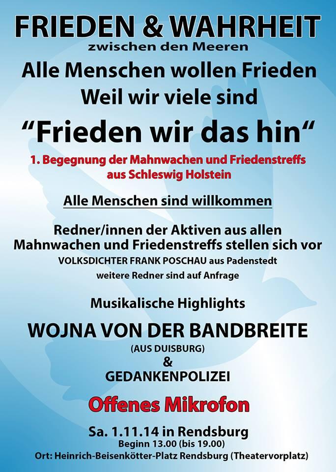 Friedensbewegung Rendsburg