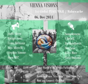 Vienna Visions - 1. Internationale Mahnwache