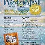 Friedensfest am See